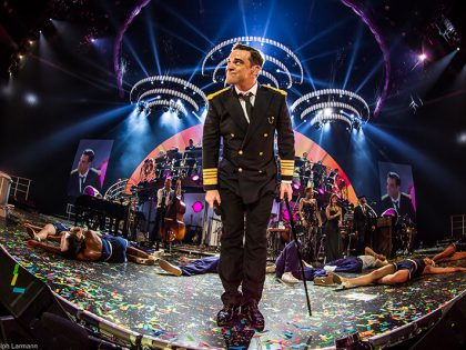 Creating Glitz and Glam for Robbie Williams