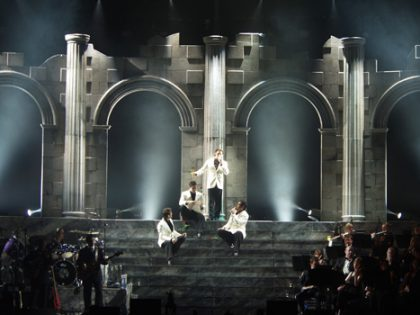 A neo-classical spectacle for Il Divo